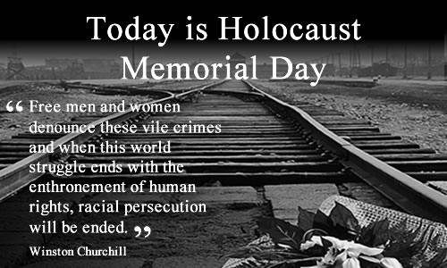 Image result for remembrance of holocaust crimes