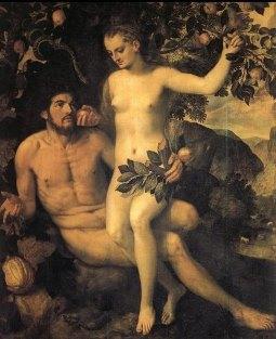 Подборка живописи «Адам и Ева»