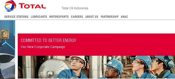PT TOTAL OIL INDONESIA : ALL MANAGEMENT KARIR - MANADO, SULAWESI