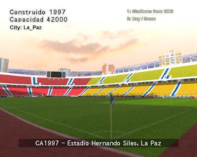 PES 6 Stadium Hernando Siles ( Copa America 1997 )