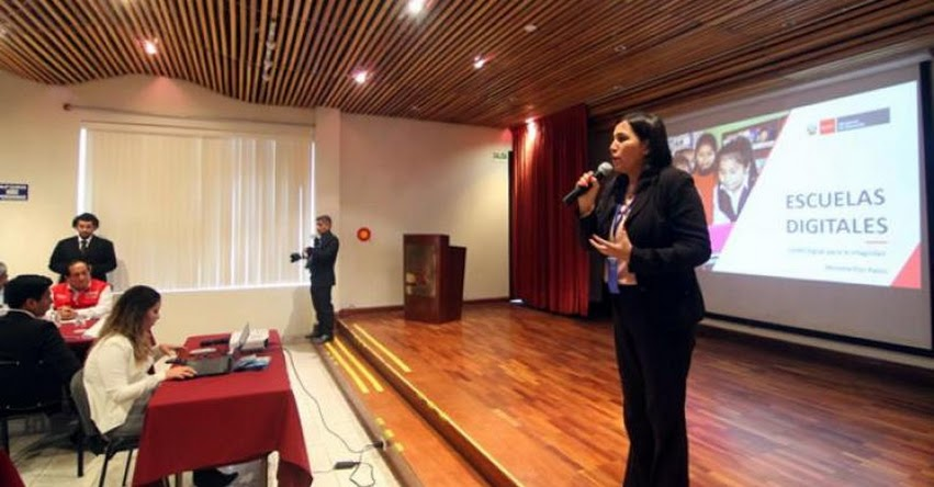 MINEDU: No basta con cambiar la tecnología, hay que cambiar la cultura de la escuela, afirma ministra Flor Pablo - www.minedu.gob.pe