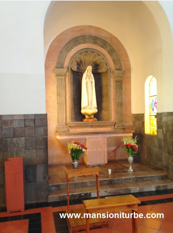 Virgin of Fatima in Tacambaro, Michoacan, Mexico