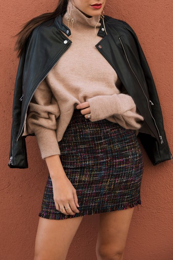 HOW TO STYLE A BIKER JACKET 3 WAYS