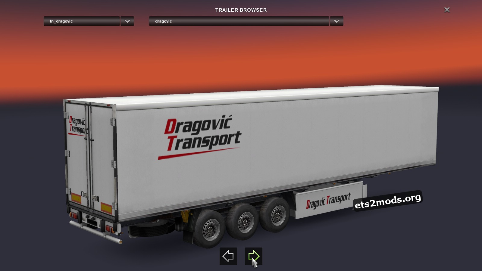 Combo Pack Dragovic Transport