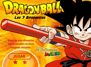 Dragon Ball - Las 7 Diferencias
