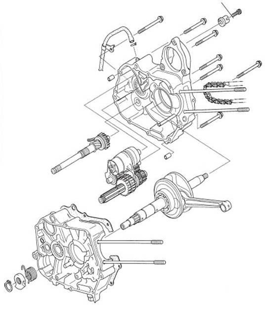 Anak SMK Belajar Bisa: Job Sheet Transmisi Manual Sepeda Motor