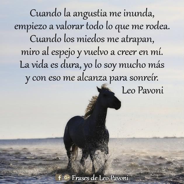 Frases De Leo Pavoni La Vida Es Dura
