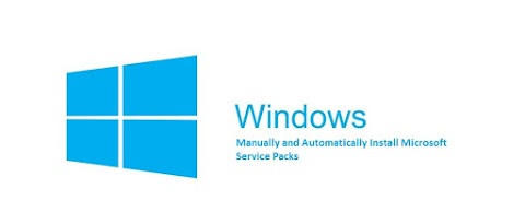 How to Manually and Automatically Install Microsoft Service Packs?