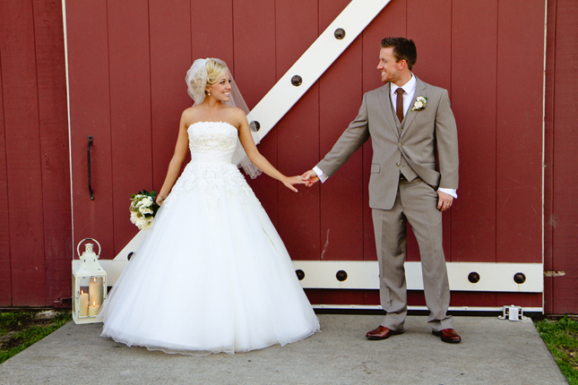 Rustic-Chic Barn Wedding - Belle The Magazine