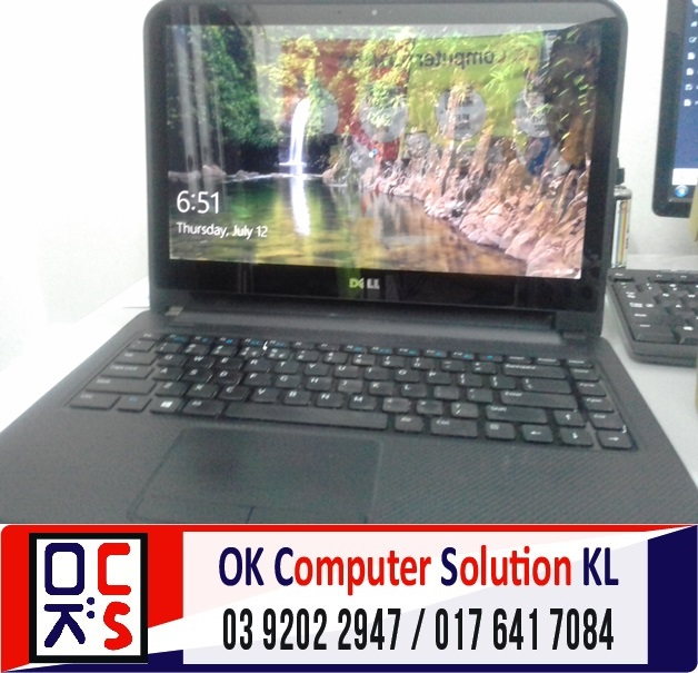 [SOLVED] LAPTOP DELL 3412 BATERI ROSAK | REPAIR LAPTOP CHERAS 4