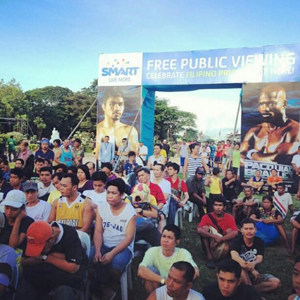 Pacquiao Fight Luneta Viewing