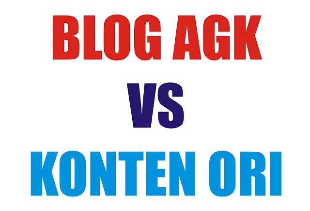 AGK Versus Konten Ori
