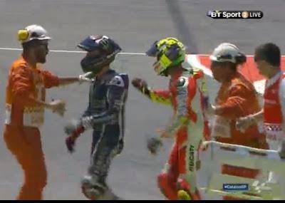Iannone Seruduk Lorenzo di Lap ke-16 Catalunya