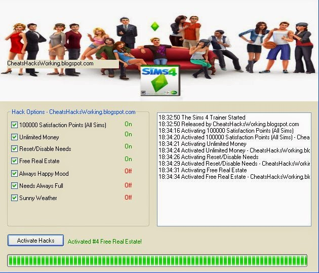Working Cheats and Hacks for Games: The Sims 4 Hacks