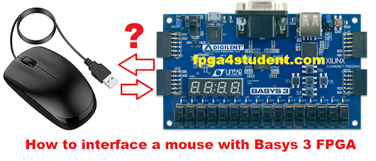 [FPGA tutorial] How to interface a mouse with Basys 3 FPGA