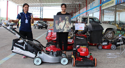Buriram Thailand Troy Bilt TB280ES Electric lawn mower