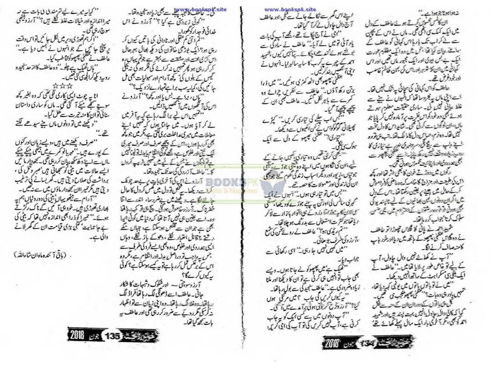 EZ Readings: Nuskha HAye Wafa Complete Novel by NAeema Naz PDf
