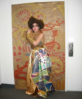 klimt woman halloween costume