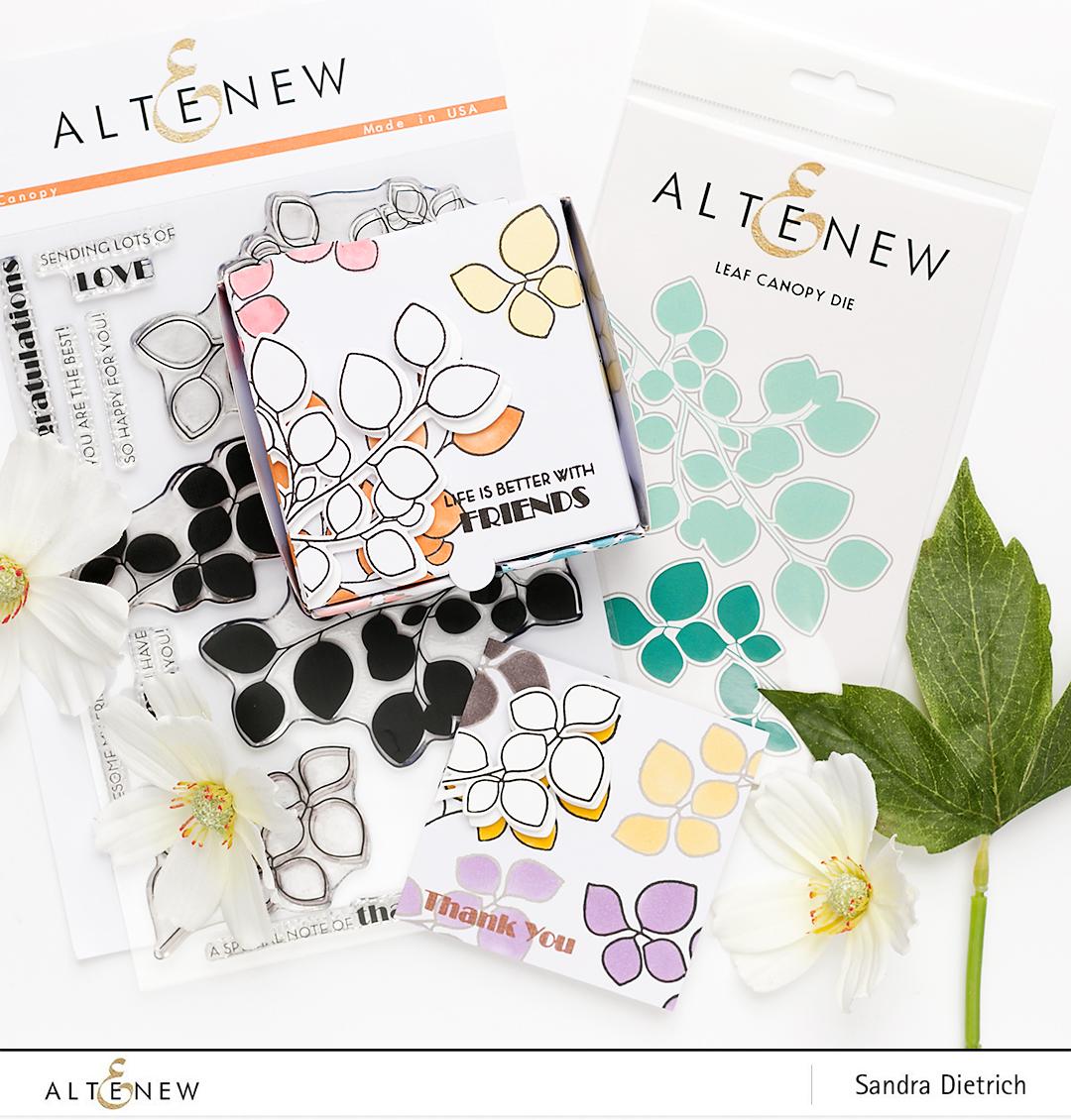 Altenew June Stamp and Die