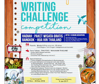 Kontes Blog Thai Food Berhadiah Paket Wisata Ke Bangkok Thailand