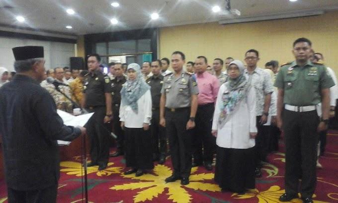 Walikota Kukuhkan Tim Satgas Saber Pungli Kota Depok