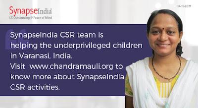 SynapseIndia CSR