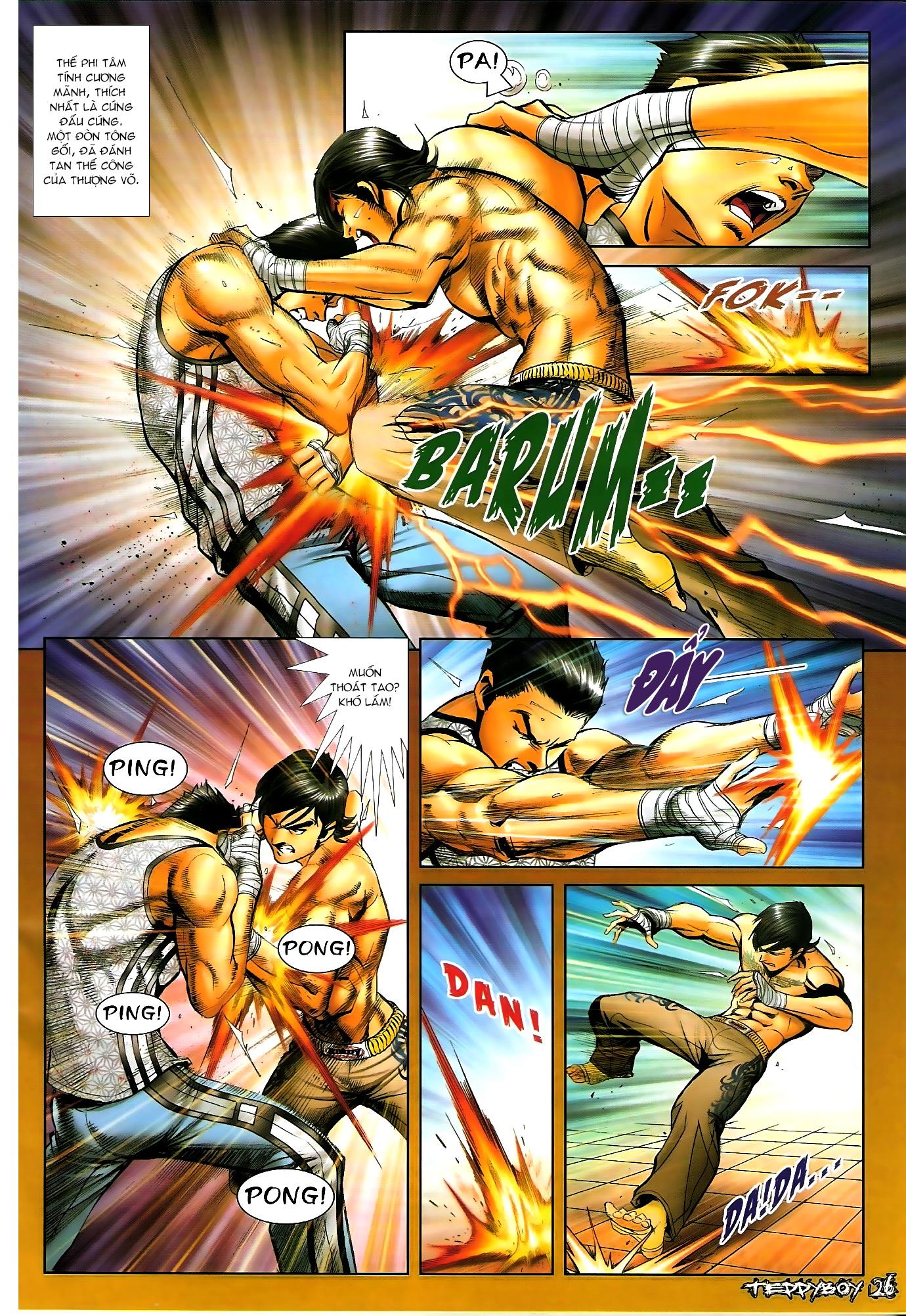 Người Trong Giang Hồ - Chapter 1306: Vinh Nhục Nhất Chiến 1 - Pic 21