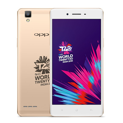 Oppo launches Selfie Expert F1 ICC WT20 limited edition smartphone with 3 GB RAM, 8 MP front camera and VoLTE support in India for Rs. 17990