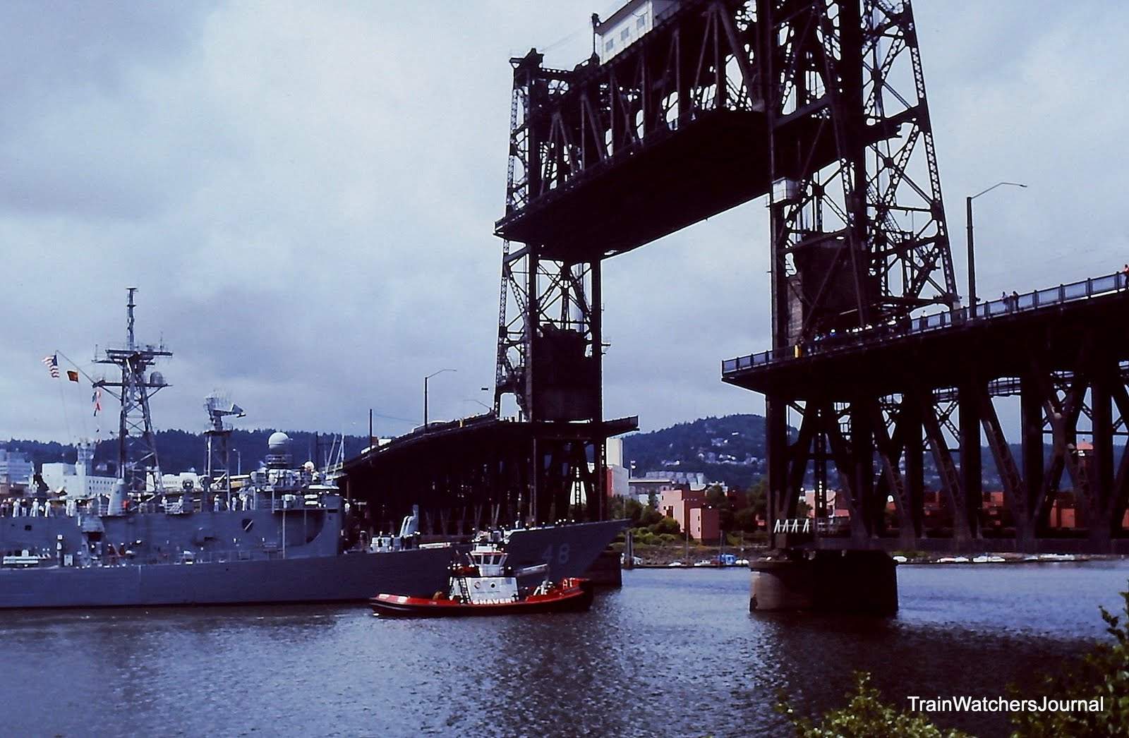 TrainWatchersJournal Fleet Week  Portland Rose Festival  June 1995