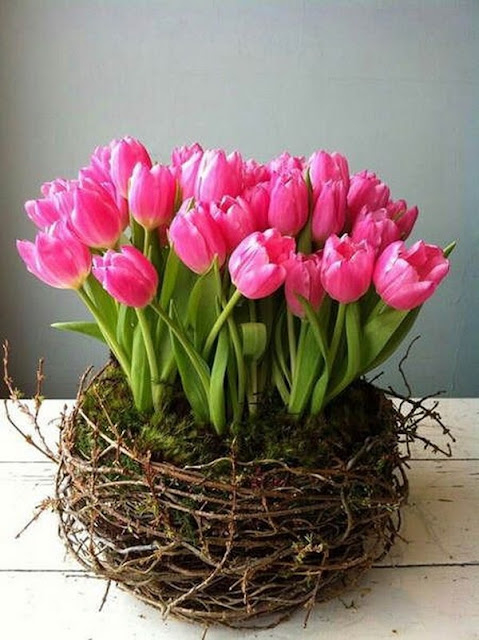Floral Arrangements With Tulips 11