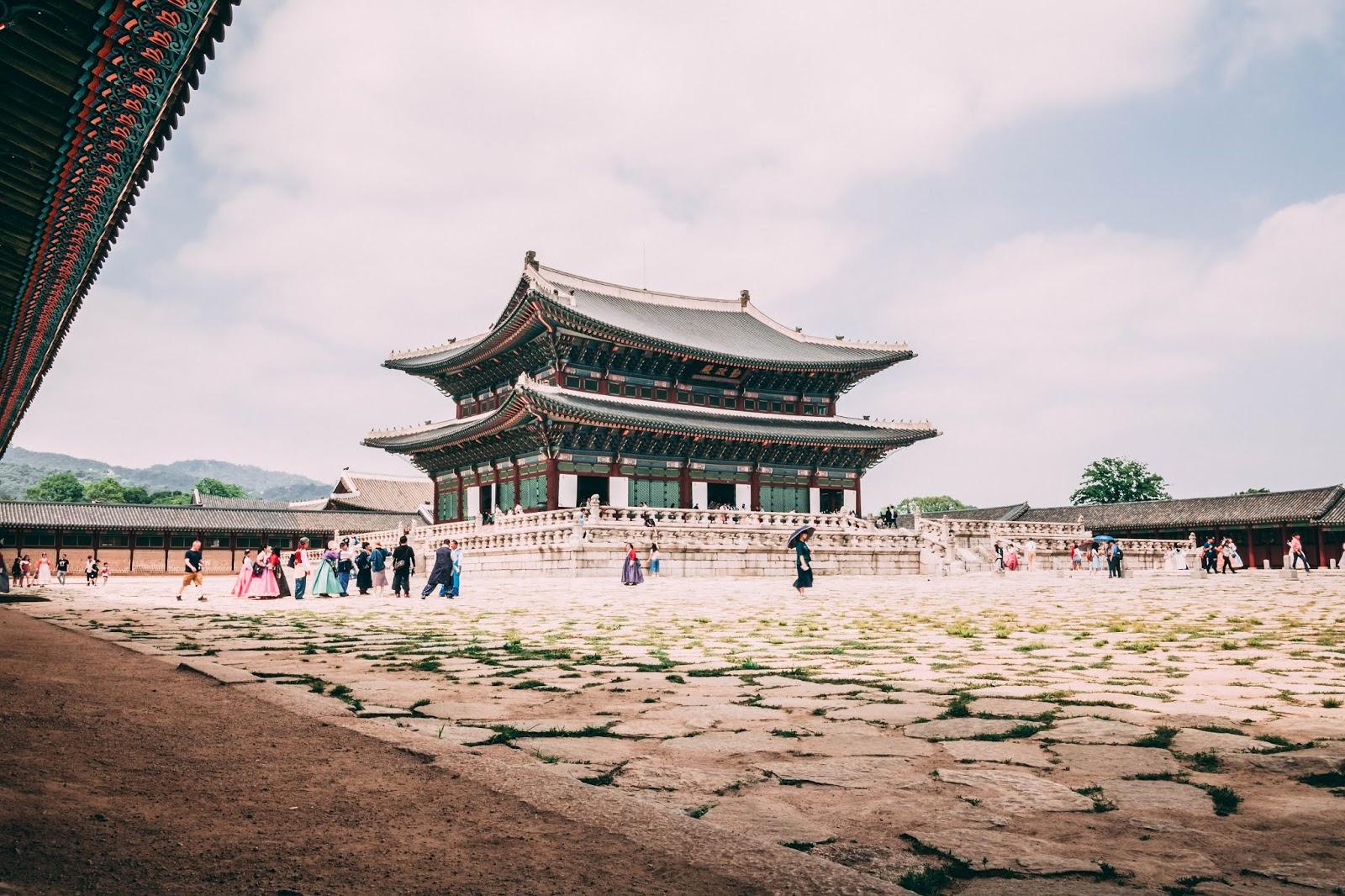 Palais gyeongbokgung visite City guide Séoul