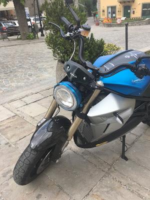 Energica moto elettriche test ride fiumalbo 2018