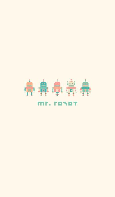 MR. ROBOT (PASTEL)