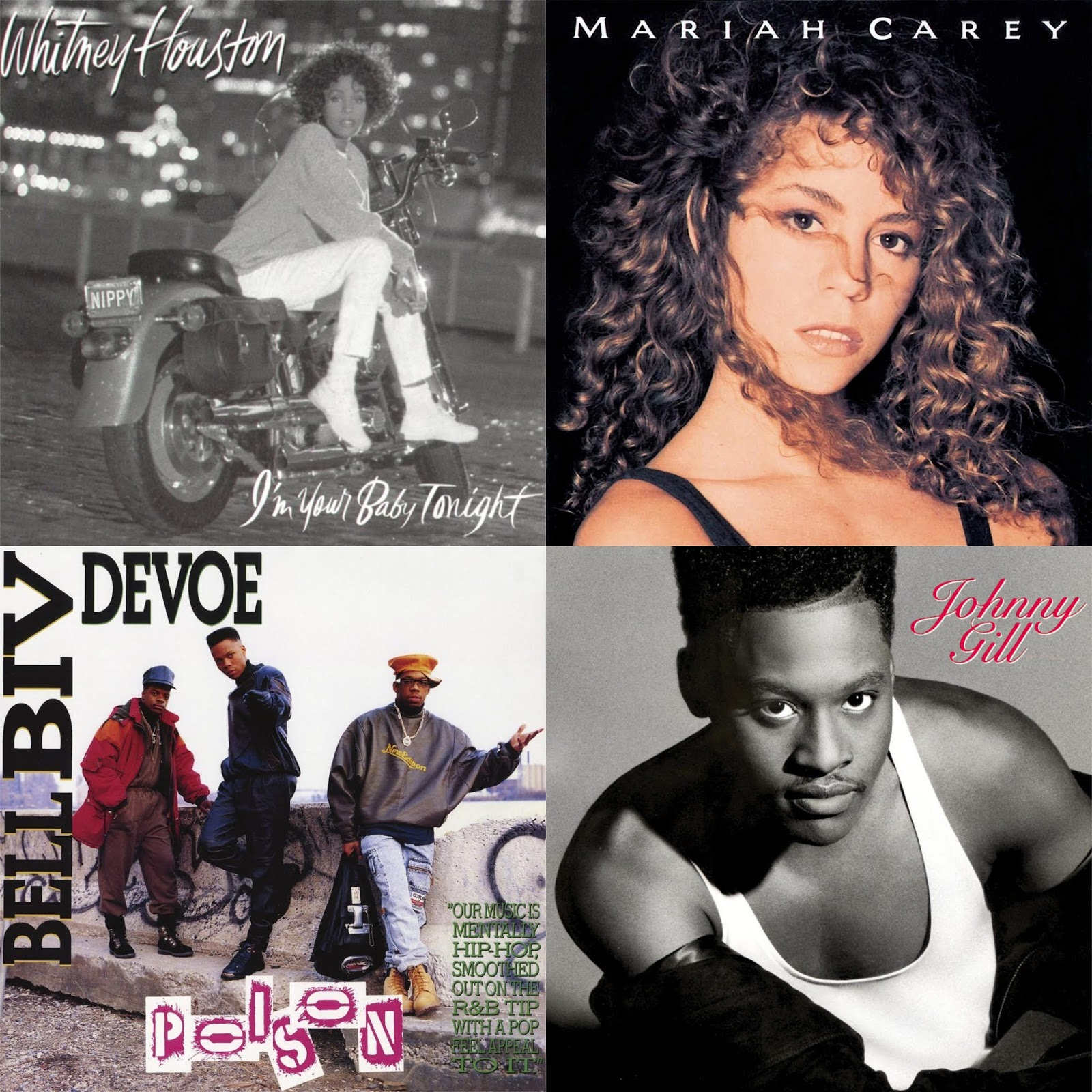 DAR Music: 7 Classic R&B Albums From 1990