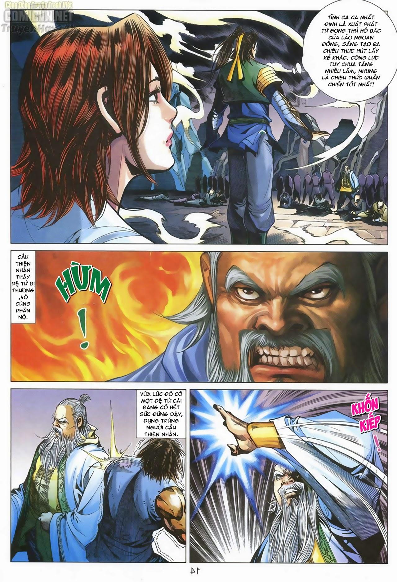 Anh Hùng Xạ Điêu anh hùng xạ đêu chap 67: quyết chiến hiên viên đài trang 13