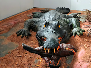 Crocodilo - Museu Municipal de Candelária