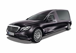 Nouvelles lignes du corbillard limousine Aura