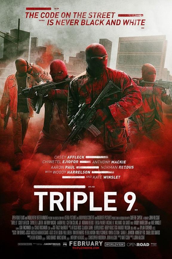 فیلم دوبله: سه گانه 9 (2016) Triple 9