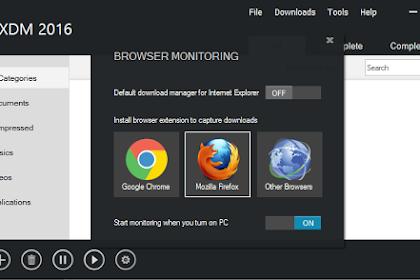 Xtrem Download Manager (XDM) Aplikasi Download File Selain IDM