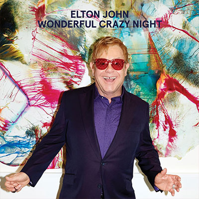 The 10 Worst Album Cover Artworks of 2016: 04. Elton John - Wonderful Crazy Night