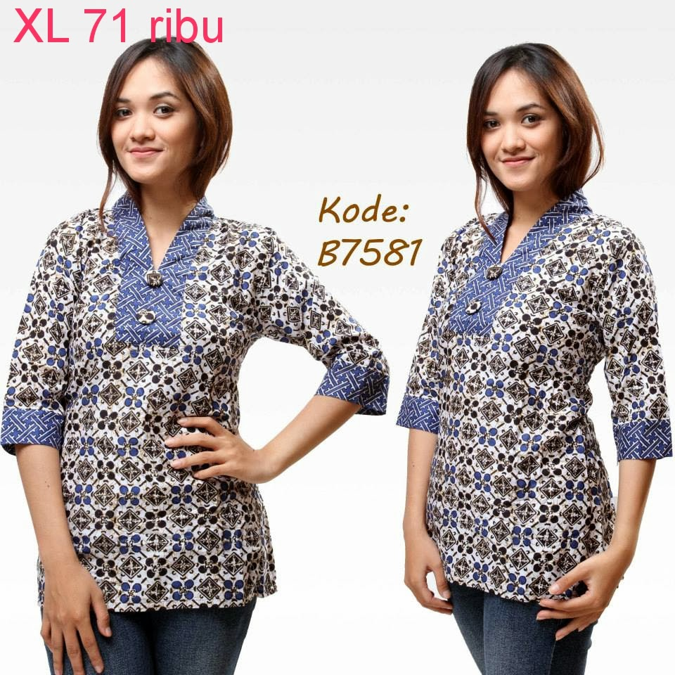 Macam Model Baju Batik: Aneka Model Baju Batik