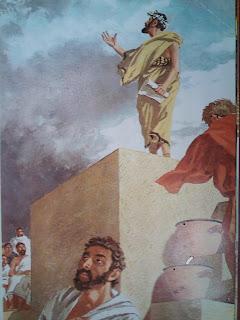 Αποτέλεσμα εικόνας για αρχαιοσ ομιλητης