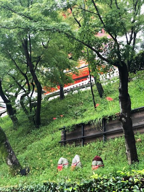 visite de Kiyomizu-dera à Kyoto