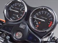 Honda CB125E: Tablero