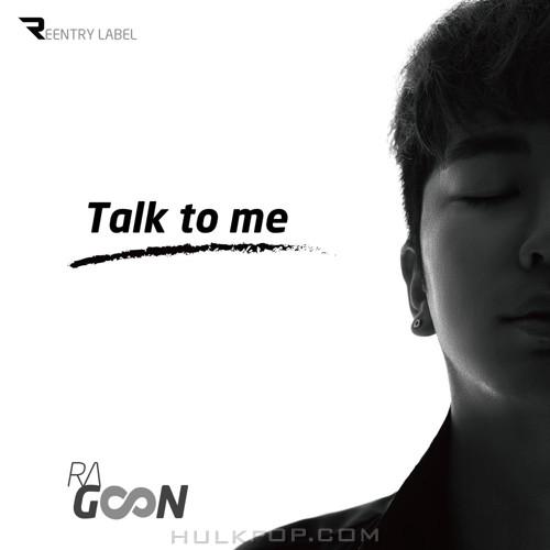 Ragoon – Talk to me – Single