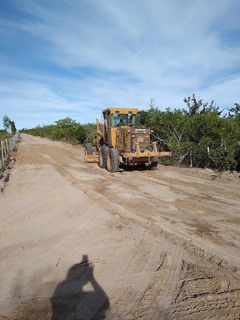 Prefeitura de Delmiro Gouveia intensifica trabalhos de recuperação das estradas vicinais