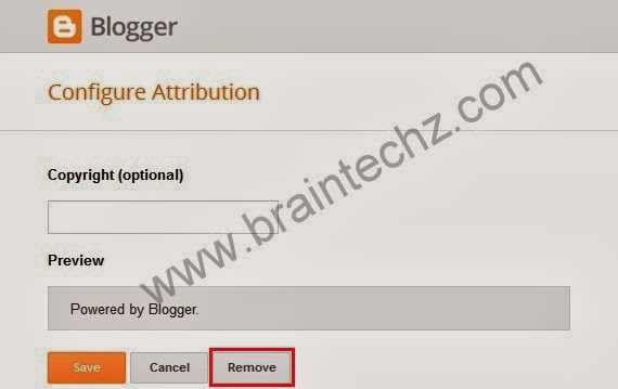 remove attribution