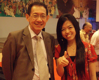 Imel Young with Hermawan Kartajaya