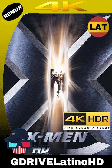 X-Men (2000) BDRemux 2160P 4K HDR LAT-ING-CAS MKV