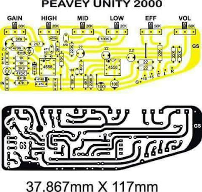 PCB Mixer audio